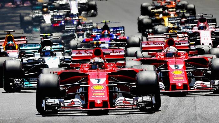 Il mondiale di Formula Uno riparte con la Ferrari in testa