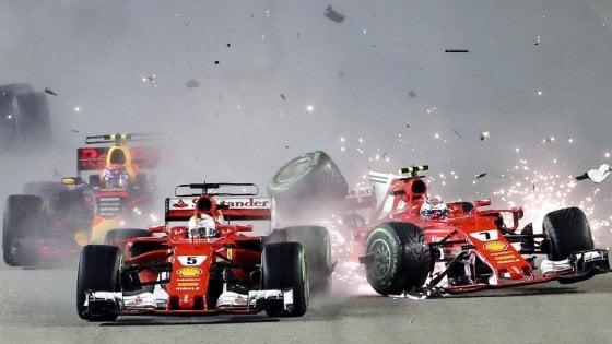 Nel GP di Singapore la Ferrari ha gettato al vento una grande occasione in ottica mondiale