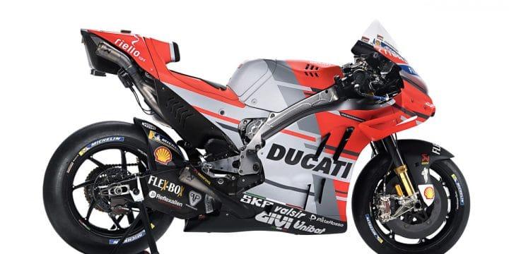 La Ducati presenta la nuova GP18 per andare a caccia del titolo iridato