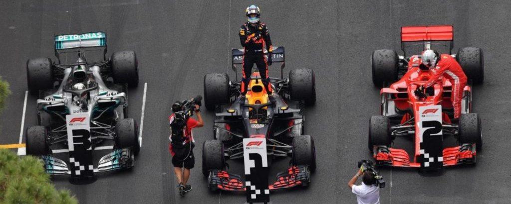 Podio GP di Monaco