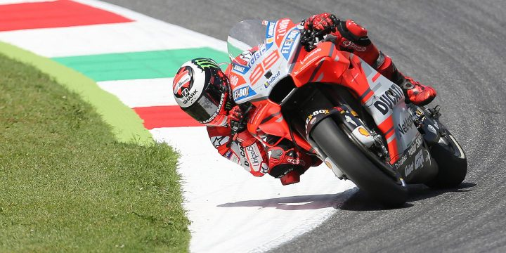 MotoGP: nel GP del Mugello arriva la prima vittoria di Lorenzo in sella ad una Ducati