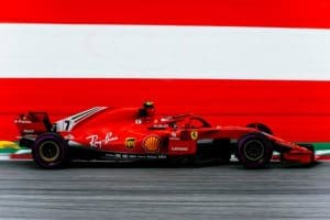Kimi Raikkonen ottimo 2°