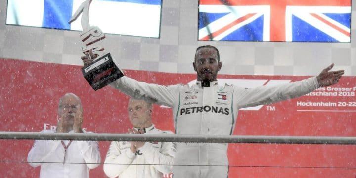 Formula 1: Hamilton trionfa nel GP di Germania. Delusione per Vettel!