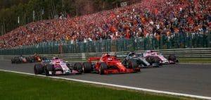 GP del Belgio: il sorpasso di Vettel ai danni di Hamilton