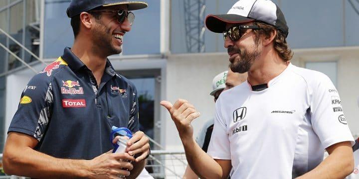 Formula 1: Daniel Ricciardo va alla Renault e Fernando Alonso si ritira