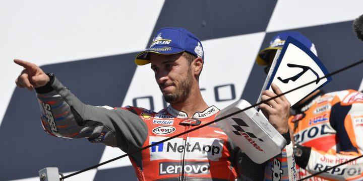 MotoGP: Andrea Dovizioso vince il GP di San Marino 2018