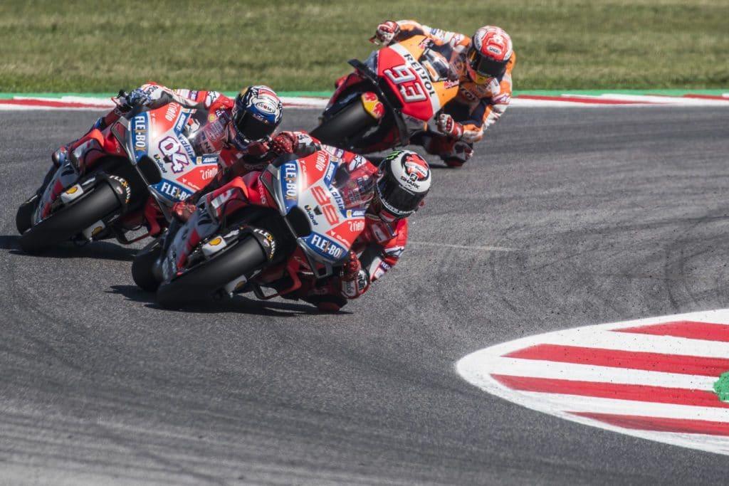 La battaglia dei 3 piloti di testa nel GP di San Marino 2018