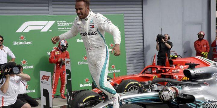 Formula Uno, GP d'Italia a Monza: Hamilton vince ed allunga nel mondiale