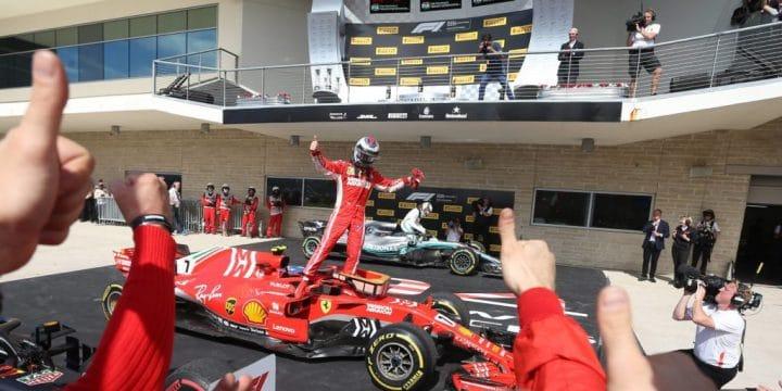 Formula Uno: Raikkonen vince ad Austin