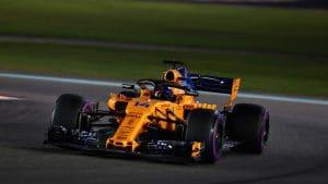 Alonso nel corso dell'ultima gara