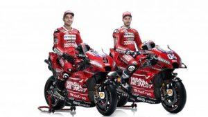 I due piloti in sella alla Ducati GP19