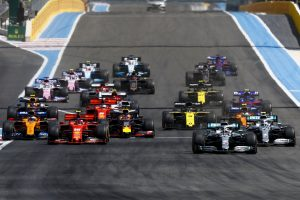 Gran Premio di Francia: la partenza