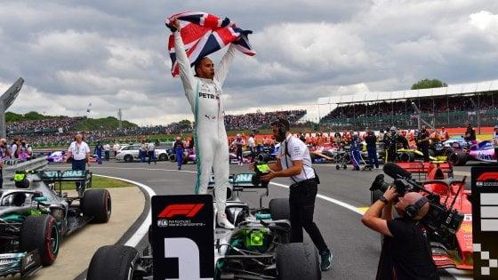Hamilton vince il GP d'Inghilterra