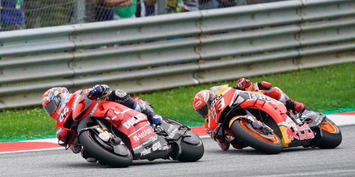 GP Austria 2019: vince Dovizioso davanti a Marquez