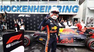 Verstappen vince il GP di Germania