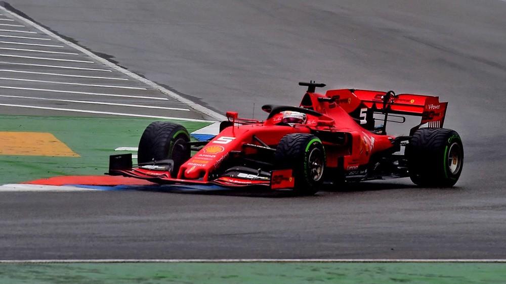 Vettel ottimo secondo in Germania