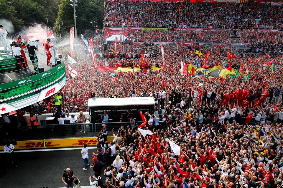 Bis di Leclerc a Monza