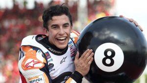 In Thailandia Marquez ha conquistato il suo ottavo titolo mondiale