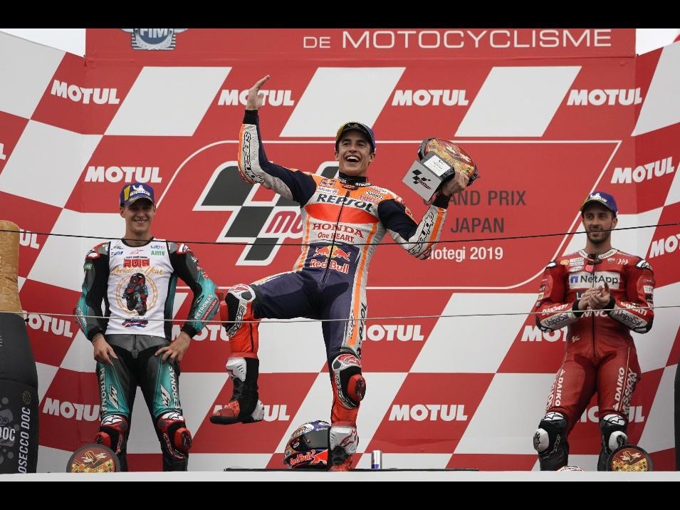 GP del Giappone: il podio